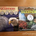 アメリカ旅行の楽しみ~アメリカ50州の25セント硬貨コレクション