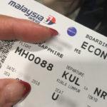 マレーシア航空のフライトが25時間遅延した話~vol.1