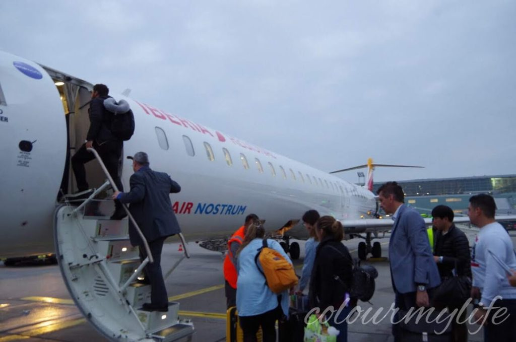 Day2:フランクフルト→マドリード→タンジェ→シャフシャウエンへ